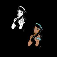 Aladdin – Jazmin vector