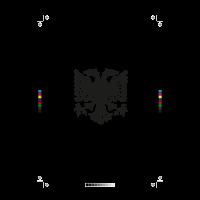 Albanain eagle logo