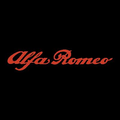 Alfa Romeo Auto logo vector logo