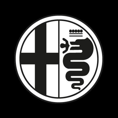 Alfa Romeo Black logo vector logo