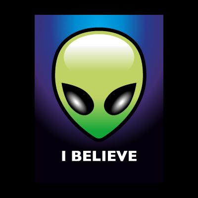 Alien logo vector logo