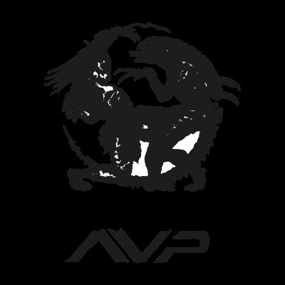 Alien vs predator logo vector logo