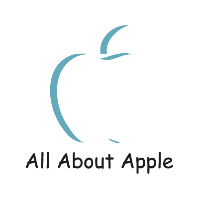 All About Apple logo vector logo