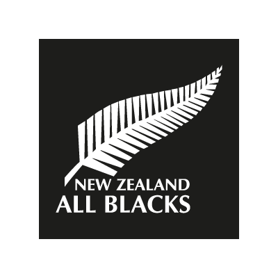 All Blacks New Zealand logo vector logo