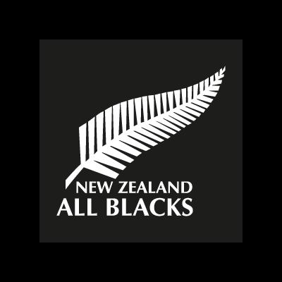 All Blacks New Zealand logo vector logo
