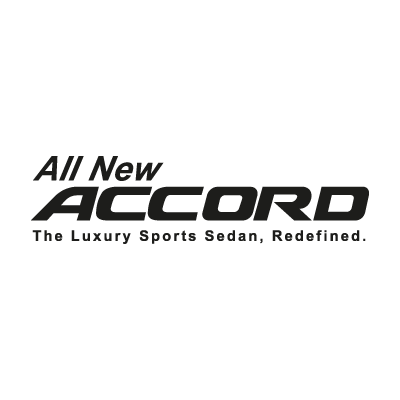 Honda All New Accord logo vector logo