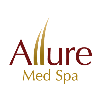 Allure Med Spa logo vector logo