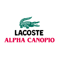 Alpha lacoste logo