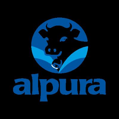Alpura logo vector logo