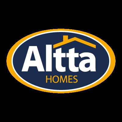 Altta Homes logo vector logo