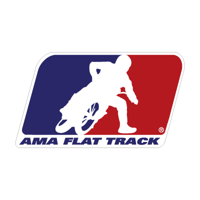 AMA Flat Track logo vector logo