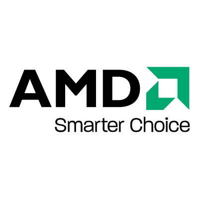 AMD Black logo vector logo