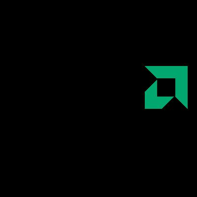 AMD Black logo vector logo