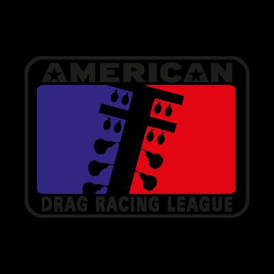 American Drag Racing League logo vector logo