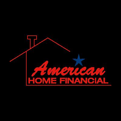 American Home Financial logo vector logo