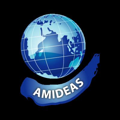Amideas logo vector logo