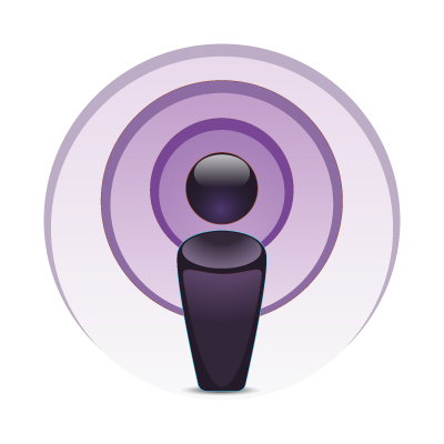 Apple Podcast logo vector logo