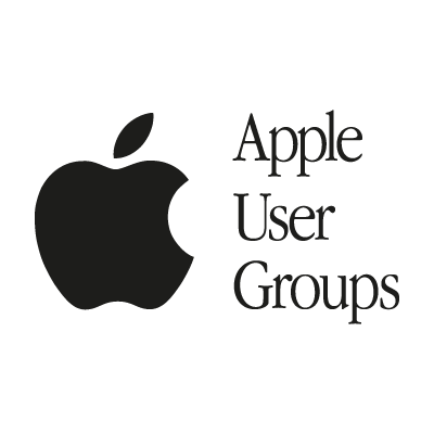 Apple User Groups logo vector logo