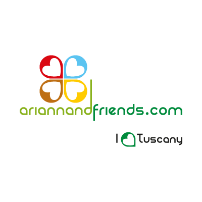 Arianna & Friends logo vector logo