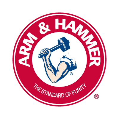 Arm and Hammer logo vector logo