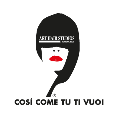 Art Hair Studios logo vector logo