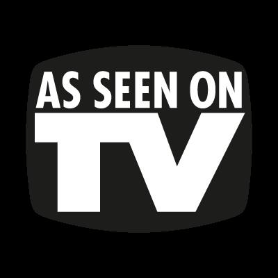 As seen on TV logo vector logo