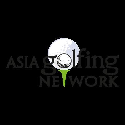 Asia Golfing Network logo vector logo