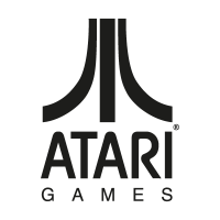 Atari Games Black logo