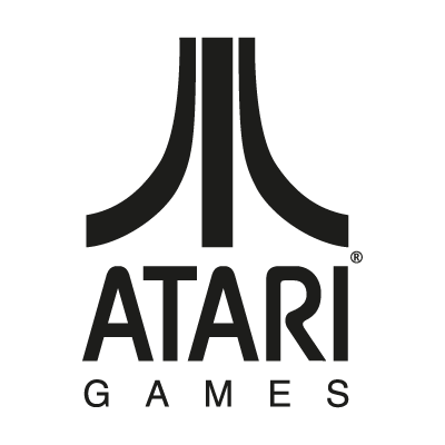Atari Games Black logo vector logo