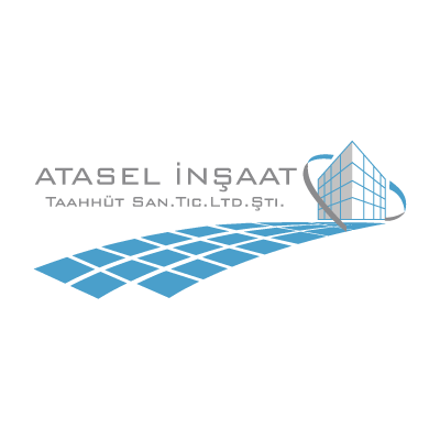 Atasel insaat logo vector logo