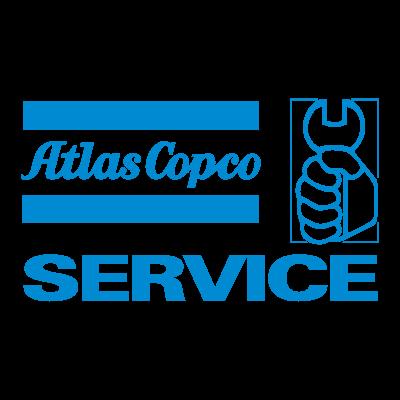 Atlas Copco Service logo vector logo