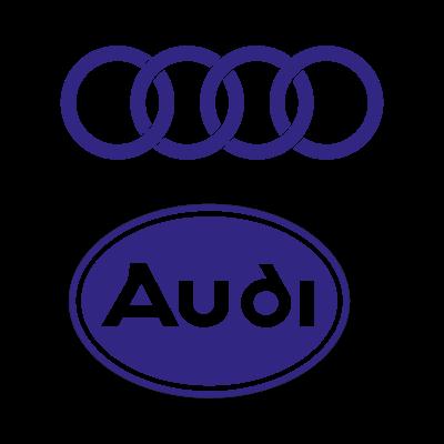 Audi Auto logo vector logo