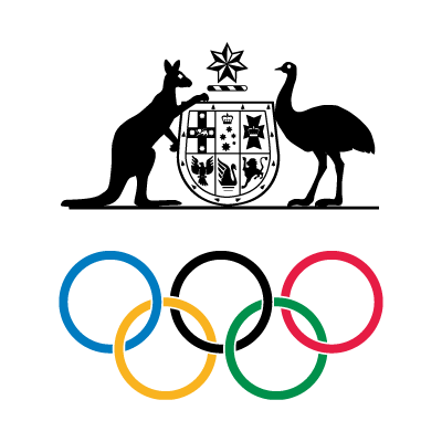 Australian Olympic Committee logo vector logo