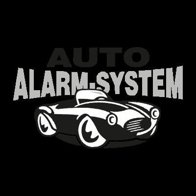 Auto Alarm System logo vector logo
