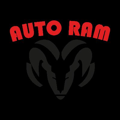 Auto ram logo vector logo