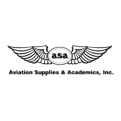 Aviation Supplies & Academics logo vector logo