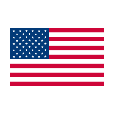 Flag of American vector logo
