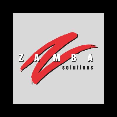 Zamba logo vector logo