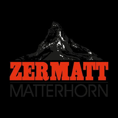 Zermatt Matterhorn logo vector logo