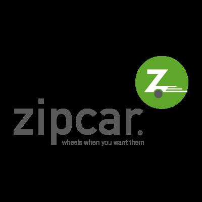 Zipcar logo vector logo