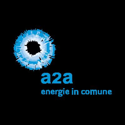 A2A energie in comune logo vector logo
