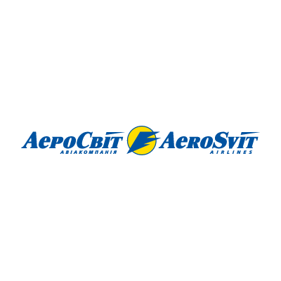 AeroSvit Airlines logo vector logo