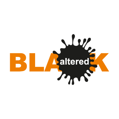 Altered Black logo vector logo
