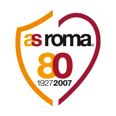 AS Roma 80 logo vector logo