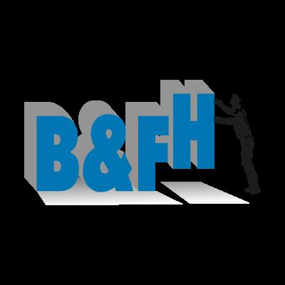 B&FH logo vector logo