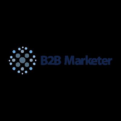 B2B Marketer logo vector logo