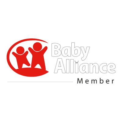 Baby alliance logo vector logo