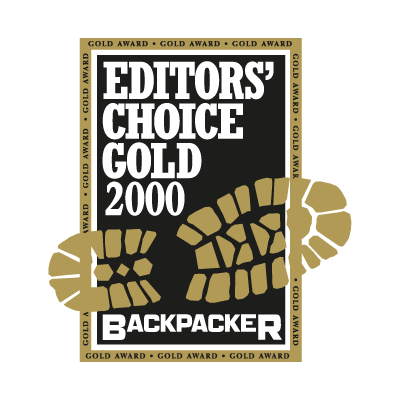 Backpacker logo vector logo