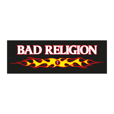 Bad religion music logo vector logo