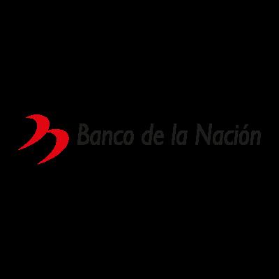Banco de la nacion logo vector logo